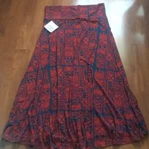 Lularoe maxi skirt. New with tag. Size 2XL.